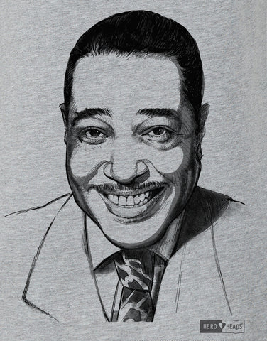 Duke Ellington - Women's Relaxed V-Neck Tee