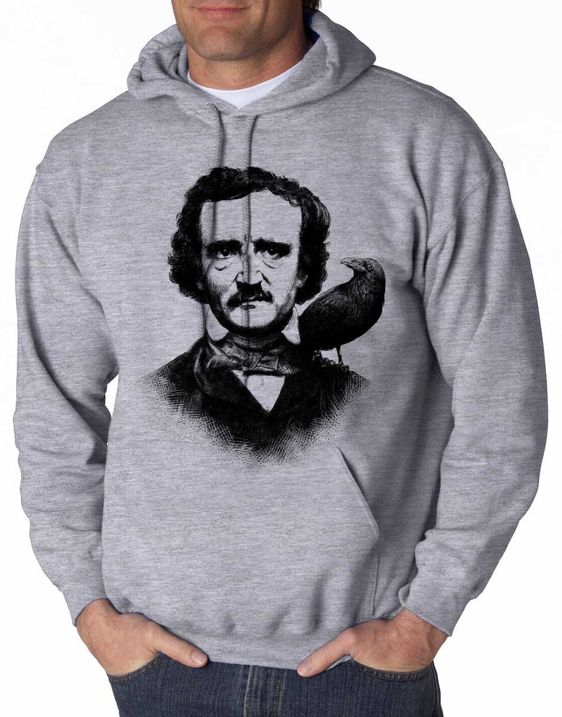 Edgar Allen Poe - Unisex Hooded Sweatshirt