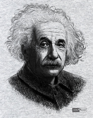 Albert Einstein - Unisex Hooded Sweatshirt