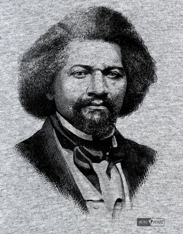 Frederick Douglass - Women's Relaxed V-Neck Tee