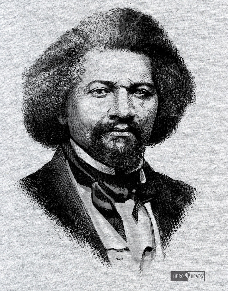 Frederick Douglass - Unisex Hooded Sweatshirt
