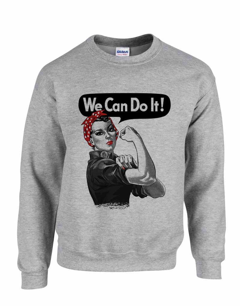 Rosie the Riveter - Unisex Crewneck Sweatshirt
