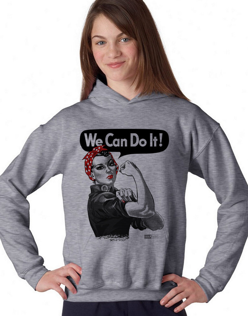 Rosie the Riveter - Unisex Hooded Sweatshirt
