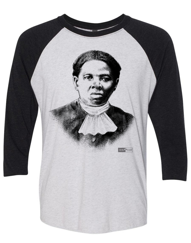 Harriet Tubman - Unisex Adult 3/4 Baseball Tee