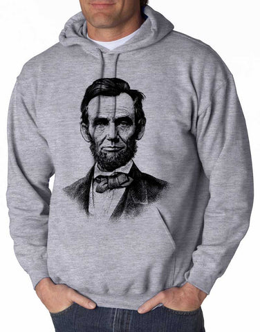 Abraham Lincoln - Unisex Hooded Sweatshirt