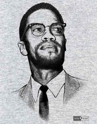 Malcolm X - Unisex Hooded Sweatshirt