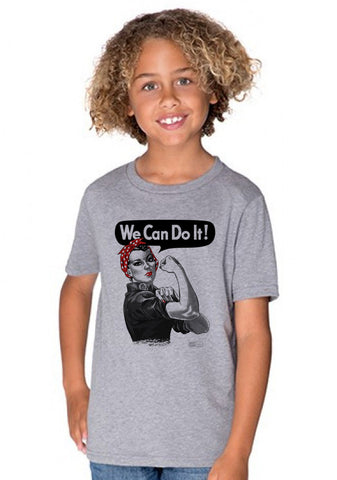 Rosie the Riveter - Youth Crew T-shirts