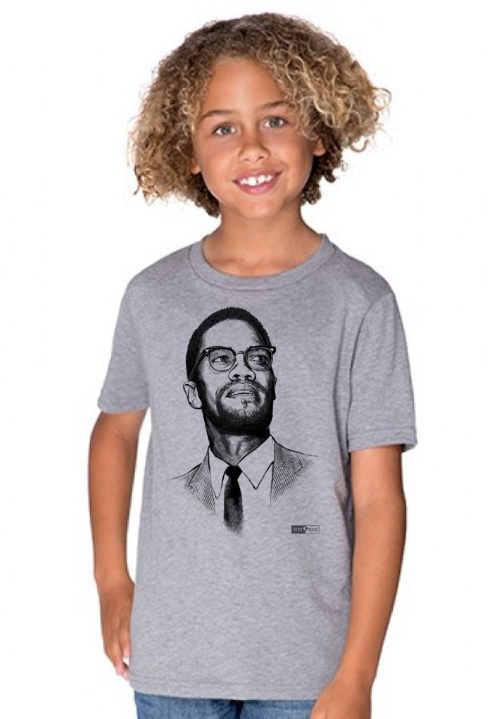 Malcolm X - Youth Crew Tee