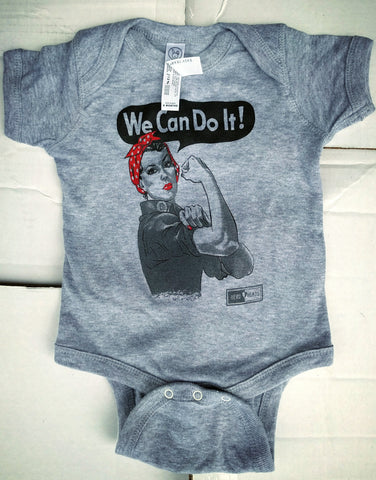 Rosie the Riveter - Baby Onesie