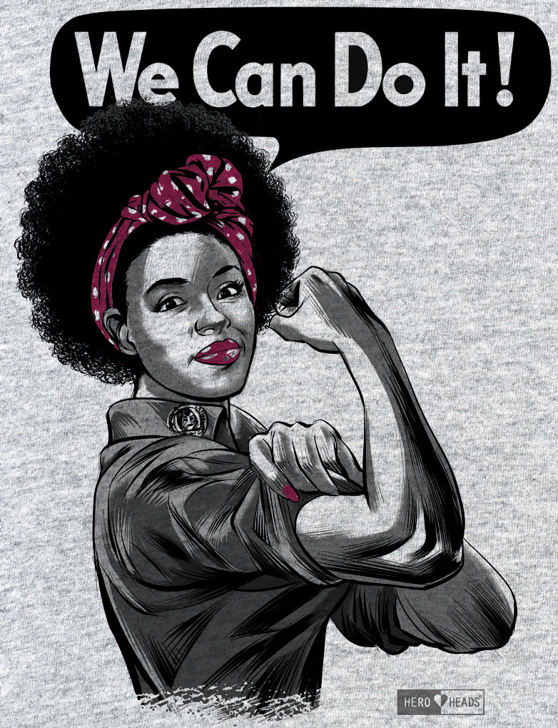 Rosie the Riveter - African American - Youth Tees