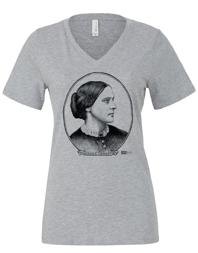 Susan B. Anthony - Women's Relaxed V-Neck Tee