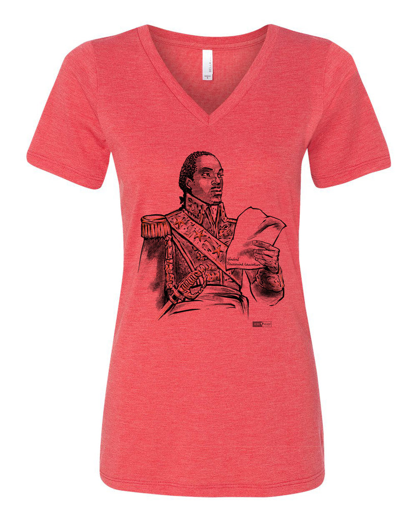 Toussaint Louverture - Women's Relaxed V-Neck Tee