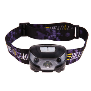 CREE XPE Super Bright USB Rechargeable LED Headlamp