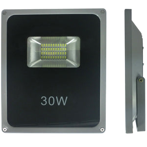 Two for One - 30 Watt Slimline LED Floodlight - iDealDirect - 2