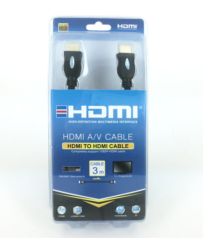 3m HDMI to HDMI A/V Cable