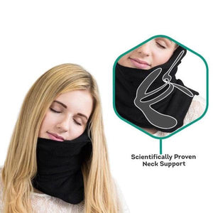 Travel Pillow - Black