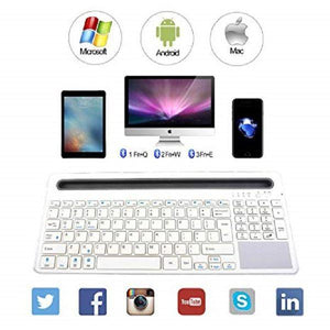 RL021 U-Groove Multi Wireless Touchpad Keyboard