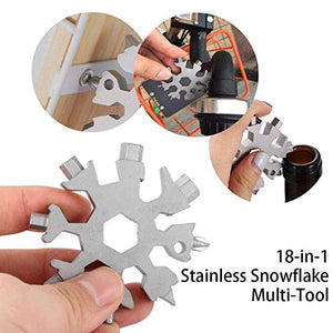 18 in 1 snowflake multi pocket tool