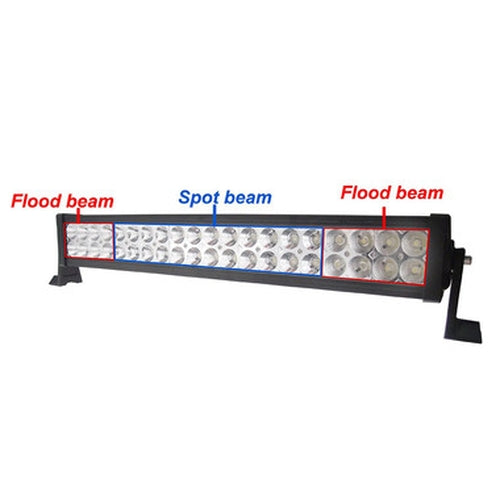 120W 4x4 Of Road Mount On Spot/Flood Light Bar for R999.99.