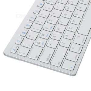 Wireless Keyboard-White