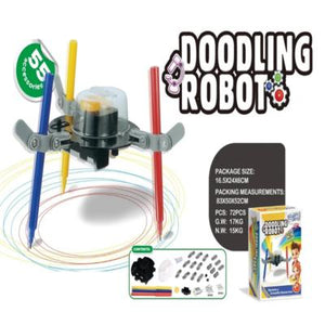 Creative Power Doodling Robot