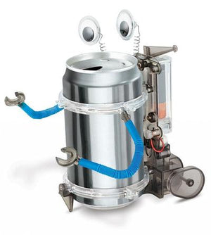 Creative Power Tin Can Robot