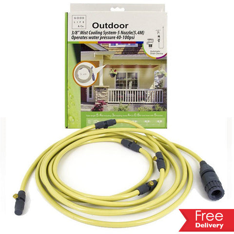 DIY Outdoor Mist Cooling System For R369.99 Including Delivery