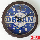Dream The Impossible Wall Clock φ35 For R199.99 Including Delivery