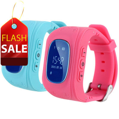 FLASH SALE: Kids GPS Watch With Call Function (Pink Only ) For R399.99