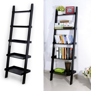Brown Wooden Ladder Shelf /Bookshelf
