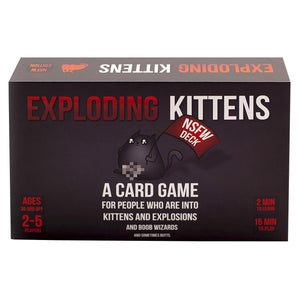 Exploding Kittens NSFW Card Game