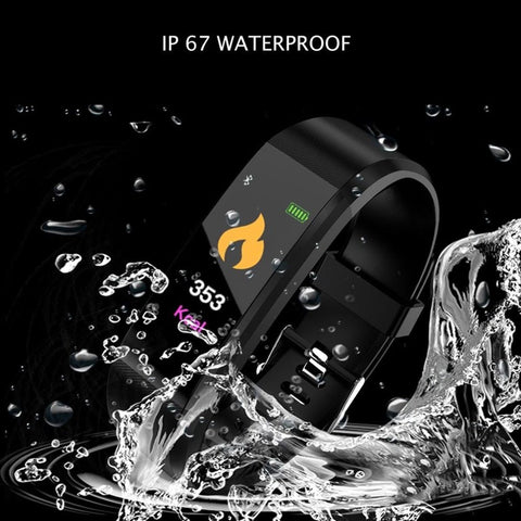Waterproof Smart Sports and Fitness Tracker Wristband