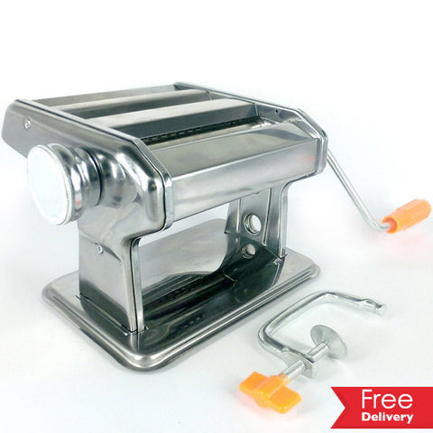 Hand operated Stainless Steel Pasta Maker for R279.99 Including Delivery