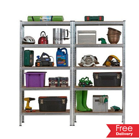 Heavy Duty 5 Tier Storage Shelf Unit For R1699.99 Including Delivery