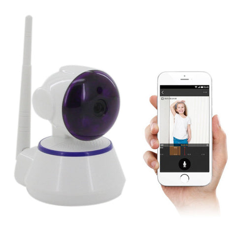Indoor HD Wireless Network IP Alarm Camera with Mobile Viewing For R499.99