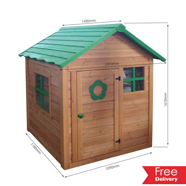 Kids Wooden Playhouse  Including Delivery