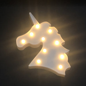 Unicorn Deco Night Light