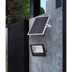 Solar Floodlight's 20W With Solar Panel with Remote