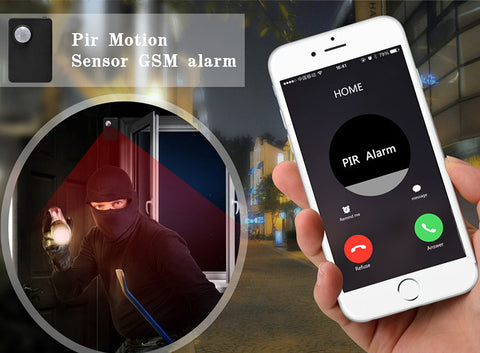 Mini Wireless PIR MP Anti-theft Alarm System For R379.99 Including Delivery