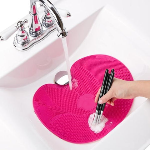 Silicone Make Up Brush Cleaning Mat