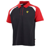 Ferrari Mens SML Race Polo Shirt Black