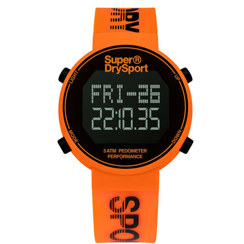 Superdry Watch -WDF Digi Pedometer