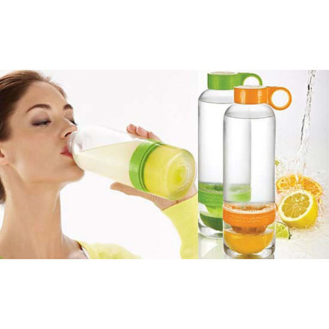 Orange Citrus Zinger Reusable Water Bottle