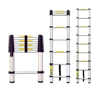 Aluminium Telescopic Ladder - 2.6 Meter