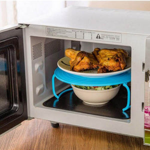 Multifunctional Microwave Placement Rack