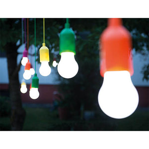 Portable Lighting Pull Chain Hanging Outdoor Lights