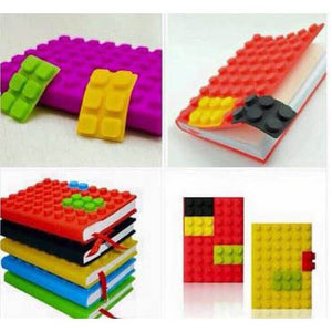 Colorful Silicone Lego Diary
