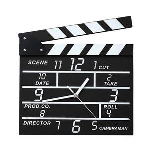 Movie Set Clock