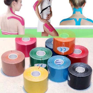 Two For One: 5M Sports Elastic Kinesiology Tape Roll