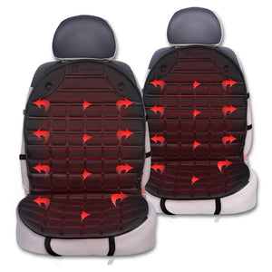 12V Heated Padded Car Seat Covers
